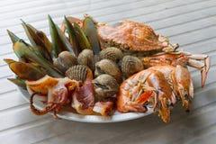 Meeresfrüchte Stockbild