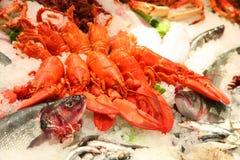Meeresfrüchte Lizenzfreie Stockfotos