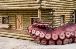 Meeresfrüchte-Albtraum Lizenzfreies Stockfoto