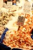 Meeresfrüchte für Verkauf Stockbilder