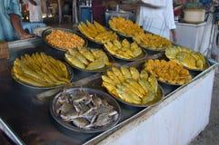 Meeresfrüchte-Küche Stockbild