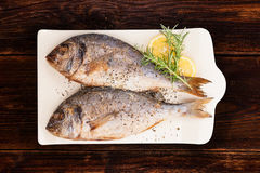 Meeresfrüchte, luxuriöse Mittelmeerart Lizenzfreie Stockbilder