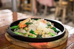 Meeresfrüchte Sukiyaki Lizenzfreie Stockbilder