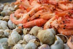 Meeresfrüchtebuffet Lizenzfreie Stockbilder