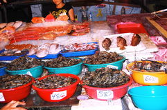 Meeresfrüchtemarkt Lizenzfreie Stockbilder