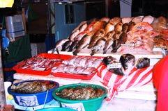 Meeresfrüchtemarkt Stockfoto