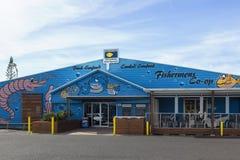 Meeresfrüchterestaurant bei Coffs Harbour Stockbild