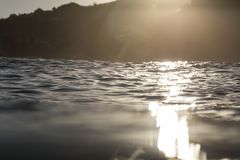 Meeresspiegel-Blendenfleck Lizenzfreie Stockfotos