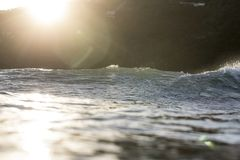 Meeresspiegel-Blendenfleck Lizenzfreies Stockfoto