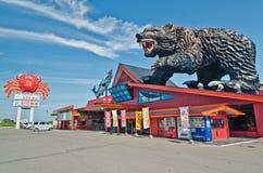 Meerestier-Markt, Hokkaido, Japan Lizenzfreie Stockbilder