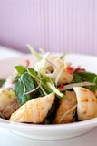Meerestier-Salat Lizenzfreies Stockbild