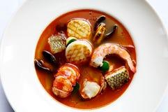 Meerestiereintopfgericht Stockbilder