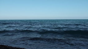 Meereswellen-Hintergrund Hd stock video footage