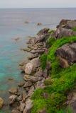 Meereswellensteine Stockbilder