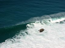 Meereswoge stockbild