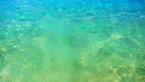 Meereswoge, Beschaffenheit auf Wasser, Aqua Hintergrund Lizenzfreies Stockfoto
