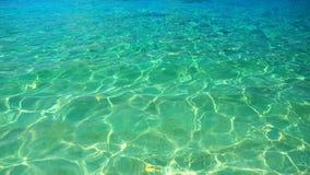 Meereswoge, Beschaffenheit auf Wasser, Aqua Hintergrund Lizenzfreie Stockfotografie