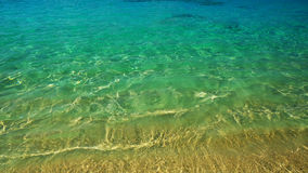 Meereswoge, Beschaffenheit auf Wasser, Aqua Hintergrund Stockfotografie