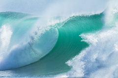 Meereswoge-Blau-Nahaufnahme Lizenzfreies Stockfoto