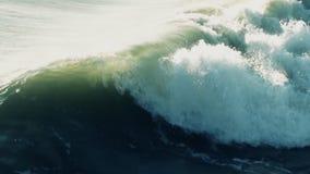 Meereswoge (Superzeitlupe) stock video