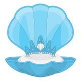 Meerjungfrau-Tiara Stockbild