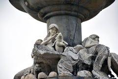 Meerjungfrau und Sohn stockfoto