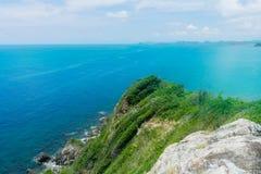 Meerlandschaft Koh Kham Thailand lizenzfreies stockbild