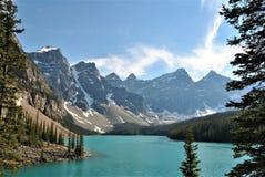 Meermorene, Alberta, Canada royalty-vrije stock fotografie