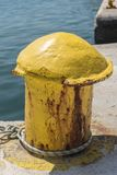 Meerpaal Argostoli Kefalonia Stock Fotografie