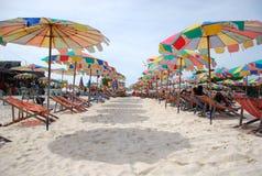 Meersand Sun Stockbilder