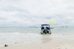 Meersandboot Lizenzfreie Stockfotografie