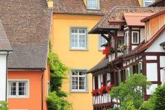 Meersburg archicture Stock Images