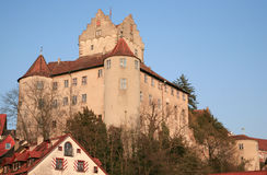 Meersburg castle above Lake Constance in Germany Stock Photography