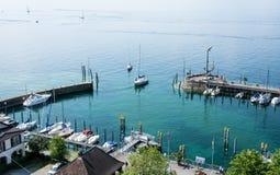 Meersburg chez le Lac de Constance Photographie stock