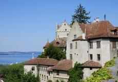 meersburg de château image stock
