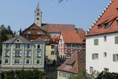 Meersburg, jaar 2013 Stock Foto's