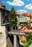 Meersburg at lake Bodensee Stock Photography