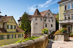Meersburg at lake Bodensee Stock Photo
