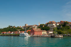 Meersburg by the lake of Bodensee Stock Photos