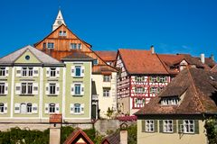 Meersburg at Lake Constance, Germany Stock Photos