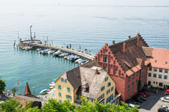 Meersburg at Lake Constance Stock Photography