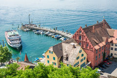Meersburg at Lake Constance Stock Photos