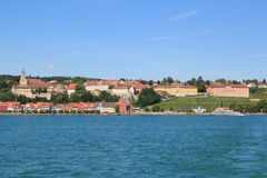 Meersburg by the lake of Constance Stock Images
