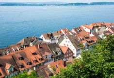 Meersburg at Lake Constance Stock Image