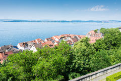 Meersburg at Lake Constance Stock Photo