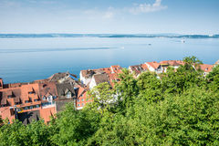 Meersburg at Lake Constance Stock Images