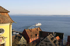 Meersburg na Jeziornym Constance, Niemcy Fotografia Stock