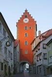 Meersburg na Jeziornym Constance, Niemcy Obraz Stock