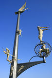 Meersburg na Jeziornym Constance, Niemcy Fotografia Royalty Free