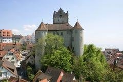 Meersburg na Jeziornym Constance, Niemcy Zdjęcie Stock
